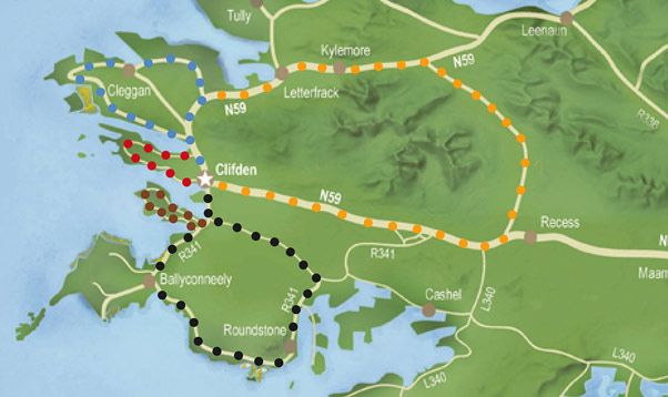 Mannions Cycle Routes