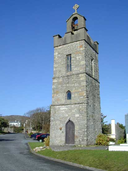 Monastery Tower, Roundstone, Connemara