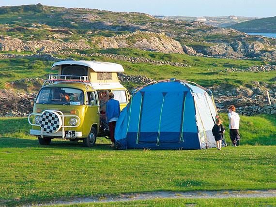 Camp at Acton's, Connemara