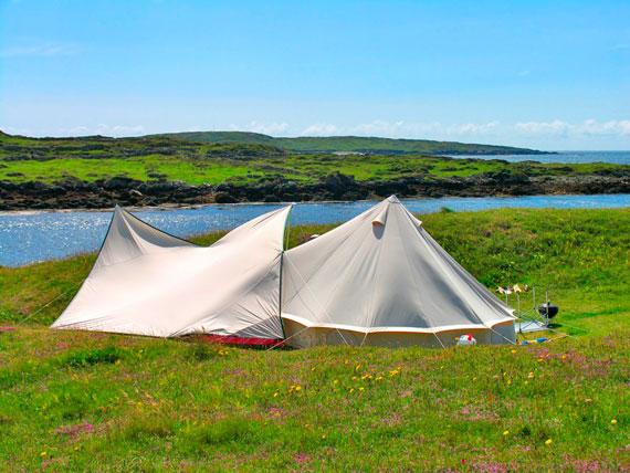 Camping At Acton's
