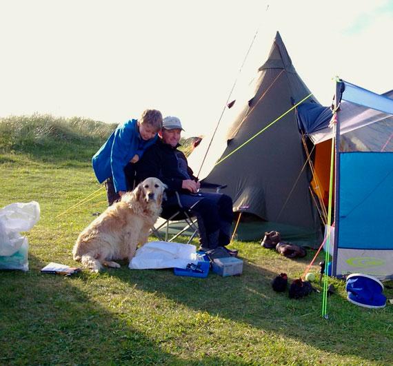 Family Camping Holiday in Connemara at Acton's