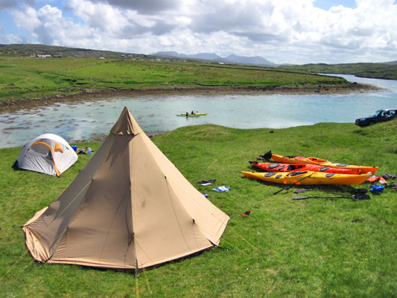 Enjoy outdoor Activities at Acton's campsite, Connemara
