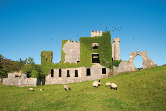 Clifden Castle, Connemara