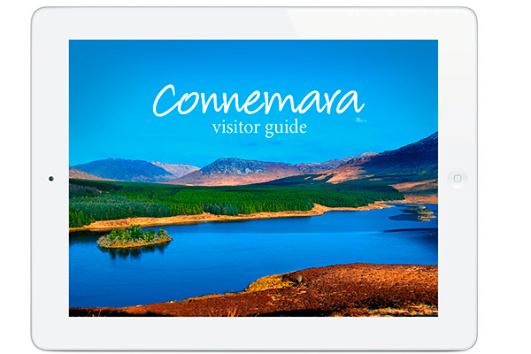 The Connemara App on iPad